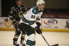 Worcester Sharks rookie forward Adam Schmidt yells for the puck (March 22, 2014).