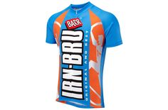Cycling... Iron-Bru Short Sleeve Jersey ...Snazzy! ...Scotland's other national drink