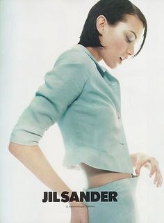 Shalom Harlow by Craig McDean for Jil Sander S/S '95. Makeup by Pat McGrath.