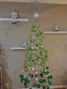http://imgur.com/a/hcNVX  Cool hanging Christmas tree project.  Wish I had the room to do this.