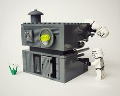 Death Star 3    Due to the astronomical heating costs of the first two Death Stars the third incarnation was scaled back somewhat. The newly built battle station has the ability to destroy a small shed.    Unfortunately they still placed a small thermal exhaust port right below the main port.