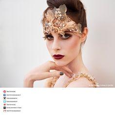 Makeup campaign for Blanche Macdonald Centre.