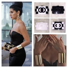 Get the look - Clutches arriving soon, Gold Cuffs €20 ❤️ Shop online now at www.cariscloset.ie or call 018456477 / 018457593 ❤️ #cari #cariscloset #carisclosetbridal #carisclosetmalahide