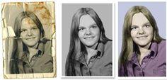 DIY: photo restoration