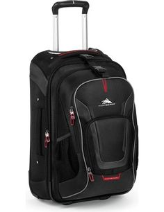 High Sierra AT7 Carry-on Wheeled Backpack with removable daypack