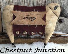 OLDE SHEEP epattern...primitive doll pattern PDF...3.99