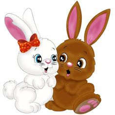 Valentine Bunnies - Easter Images