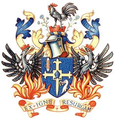 Crest of the Huguenots -  Ex Igne Resurgam (I will arise from the fire)