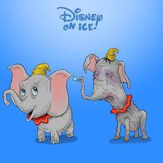 Les personnages de pop culture en mode junkies : Dumbo