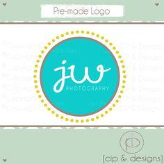 logo by CIPandDesigns on Etsy Logos, Logo Design, Chart, Logo Ideas, Business, Handmade Gifts, Photography, Etsy, Logo