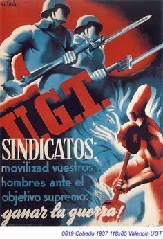Spain - 1937. - GC - poster - autor: Fernando Cabedo Torrents