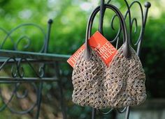 Crocheted Purse in Provence