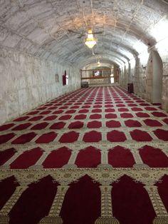 Basement of Masjid Al Aqsa