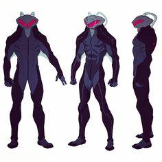 Black Manta in Justice League Throne of Atlantis. Under water Boba Fett. Superhero Characters, Comic Book Characters, Comic Character, Comic Books Art, Character Concept, Comic Art, Dc Comics, Character Turnaround, Black Manta