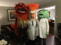 Muppet Halloween Costumes  Animal, Beaker & Bunsen