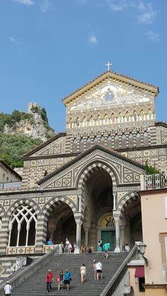 Catedral  de  Amalfi -Itália