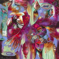 Giclee Print on Stretched Canvas – 'Manifest' $219