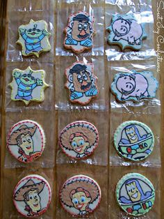 Sweet Ivy Confections Toy Story Cookies