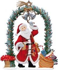 Nikolaus 2015 am Weihnachtstor | Wilhelm-Schweizer Zinnfiguren