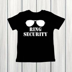 Ring Security Shirt Wedding Rehearsal Shirt Ring by IsABellaTrend