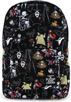 Loungefly - Disney Nightmare Before Christmas Characters Backpack