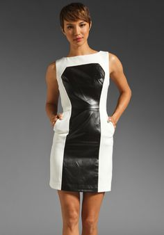 MILLY Double Weave Nina Dress in Ecru, $387. Milly is really stepping up it's game this season...