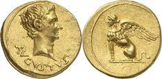 Imperial Rome AV Aureus ND (19-18BC) Pergamus Mint Augustus 27BC-14AD