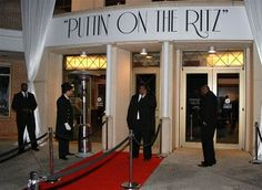 puttin on the ritz party theme - Google Search