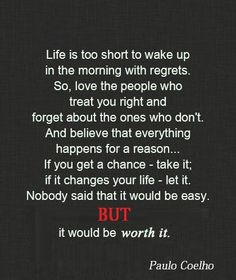 Life is too short >