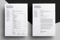 Resume/CV - Frankie by bilmaw creative on @creativemarket