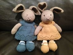 Pattern from Little Cotton Rabbits on easy
