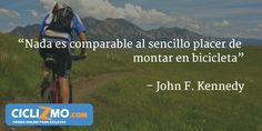 """Simple + Placentero = Bicicleta"" - Visítanos en CICLIZMO.COM (Tienda Online) #FrasesCiclizmo"