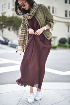 Very chic color & style combination @9to5chic