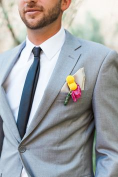 billy ball boutonniere #groom @weddingchicks