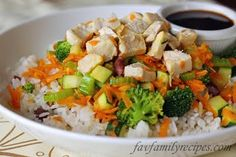 *Review*- My kids loved this dinner!  I think the sauce is great, you could totally substitute Yoshito's teryaki sauce and it would be almost the same!    Rumbi Rice Bowls