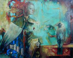 "Waclaw Sporski ""Return"" 100х125 Oil On Canvas sporskiart.com"