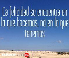 Haz lo que te haga feliz @powerclubpanama #YoEntrenoEnPowerClub
