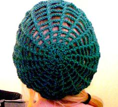 Spiderweb hat - It will be perfect for disguising my hair under when I really should wash it but am too busy.