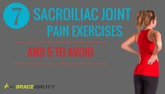 Remedies For Knee Joint Pain 7 Best Sacroiliac Joint Pain Exercises, and 5 to Avoid - Are you experiencing sacroiliac joint pain? Learn 7 exercises that will help in relieving sacroiliac joint pain and 5 activities to avoid this lower back pain. Rheumatoid Arthritis Treatment, Knee Arthritis, Juvenile Arthritis, Si Joint Pain, Hip Pain, Knee Pain, Yoga, Sacroiliac Joint Dysfunction, Arthritis