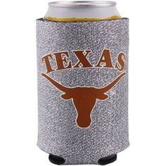 And...I want this too!  Texas Longhorns 12oz. Glitter Can Koozie - Silver