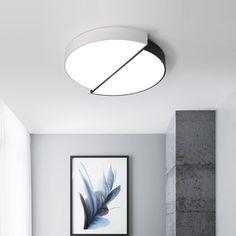 56.52$  Buy now - http://alixsy.shopchina.info/1/go.php?t=32814372021 - Creative Simple Art LED Ceiling Light Modern Minimalist Living Room Light Bedroom Study Lighting Lamparas De Techo ceiling lamp 56.52$ #buyininternet