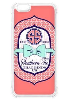 Simply Southern Preppy Phone Case For Iphone 6 In Pink Bowtie ...