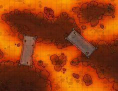 Underdark Magma chamber w bridges