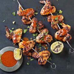 Sriracha+ginger+glazed+chicken+wings+