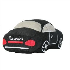 Furcedes Car Plush Toy - New from Haute Diggity Dog! Our classic Furcedes toy gets a fresh new update. Your dogs will love getting one of these plush, cute, and fun squeaker toys. They will love how s
