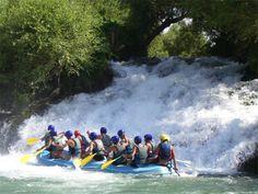 Rafting In Hermel Lebanon