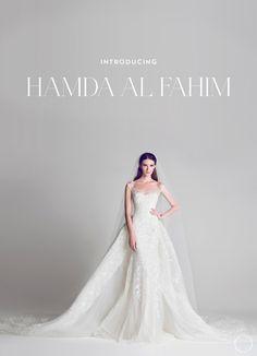 hamda al-fahim, wedding couture, UAE wedding dress, wedding dress, designer wedding dress, couture wedding dress   The Coquette Bride