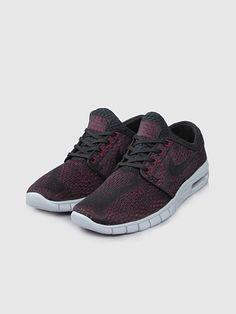 Nike SB Stefan Janoski Max 631303-010 Baskets Noir Noir