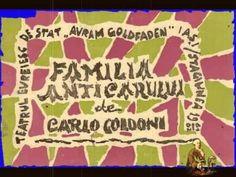 Familia Anticarului-Carlo Goldoni-Teatru radiofonic cu Grigore Vasiliu Birlic