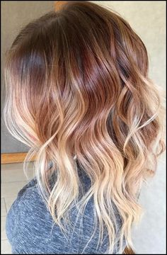 Top 15 Fall Auburn Ombre Hair Color Trends 2017-2018 | Frisur, Haar ...